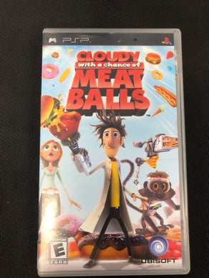 PSP: Cloudy with a Chance of Meatballs