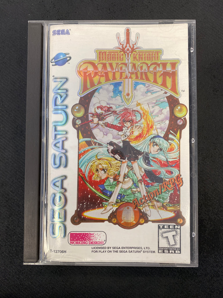 Saturn: Magic Knight Rayearth (Missing Stickers)
