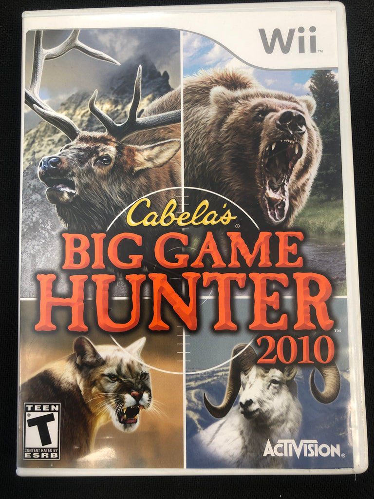Wii: Cabela's Big Game Hunter 2010