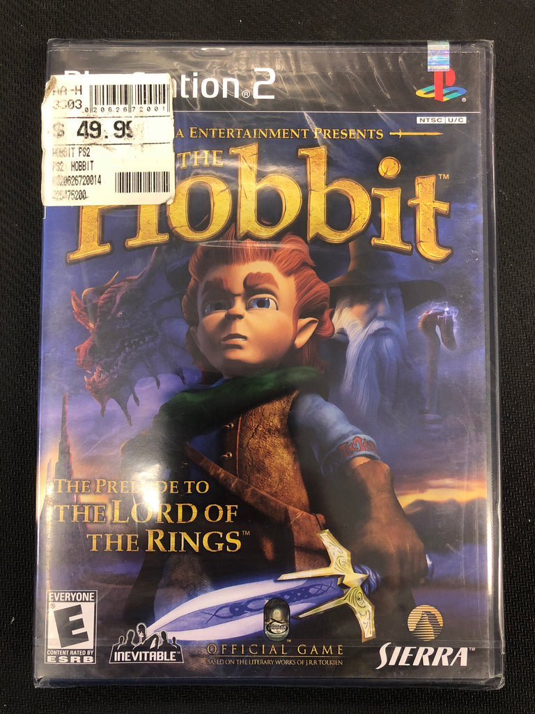 PS2:  The Hobbit (Sealed)