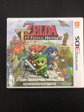 3DS: The Legend of Zelda: Tri Force Heroes