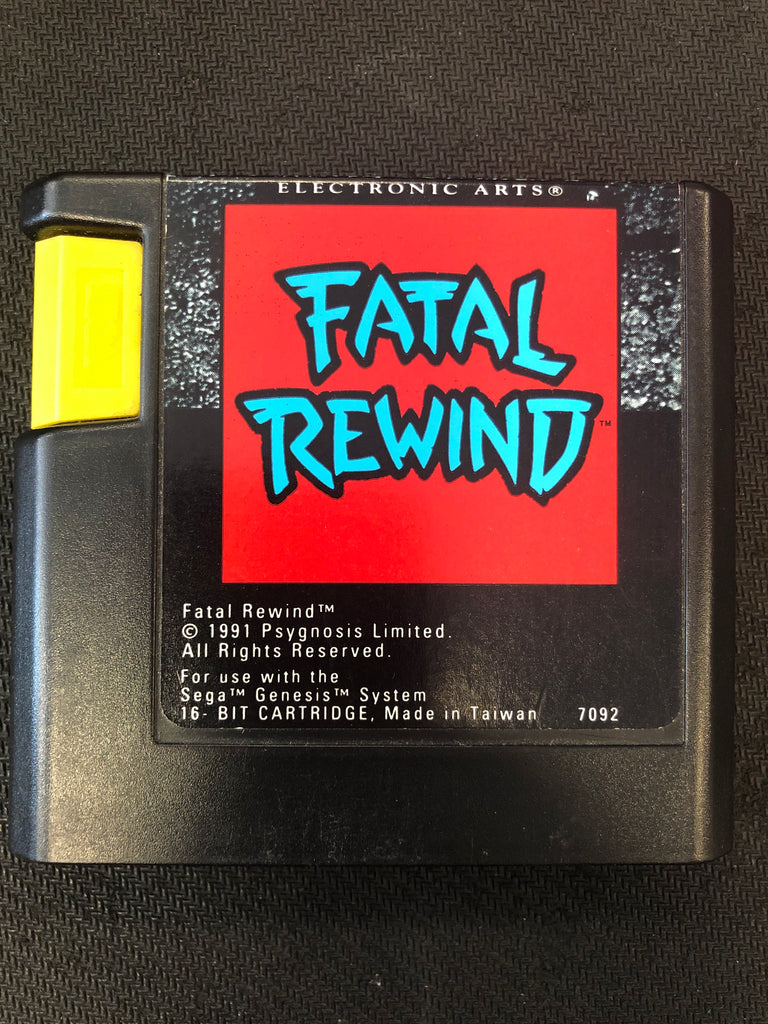 Genesis: Fatal Rewind (Cartridge Only)