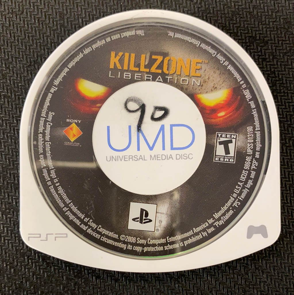 PSP: Killzone Liberation (Disc Only)