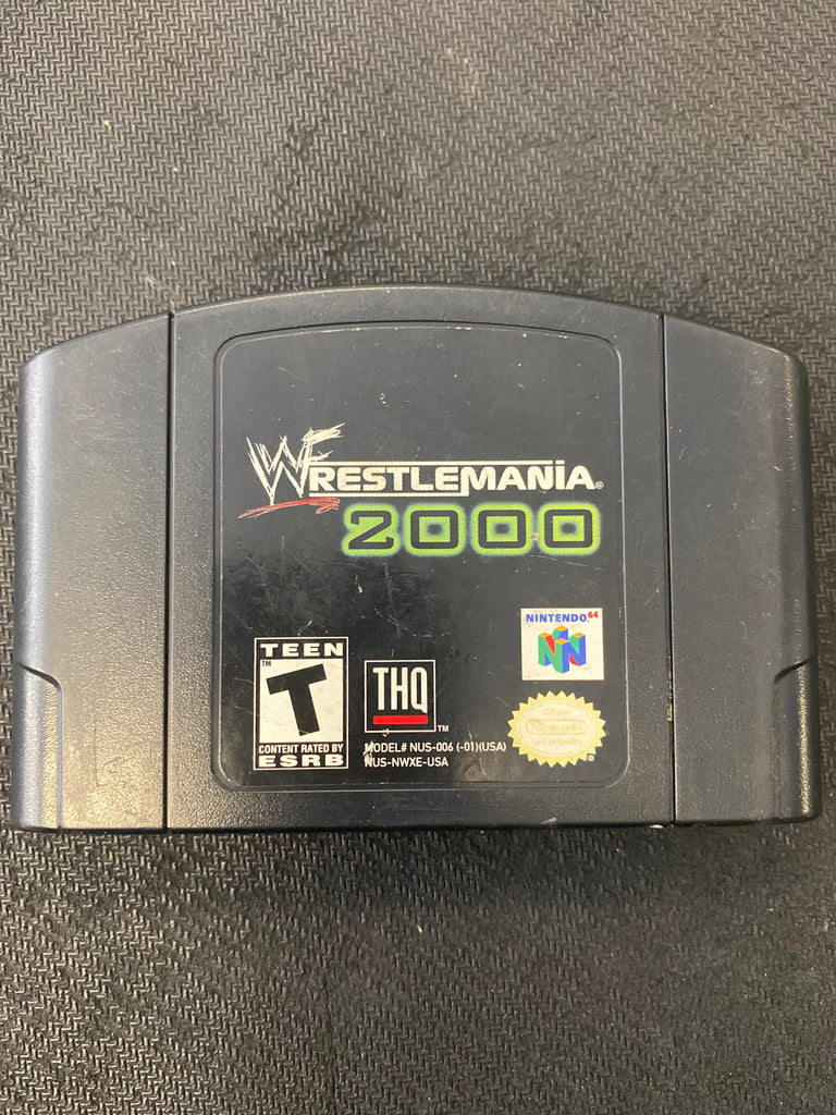 N64: Wrestlemania 2000 (Authentic)