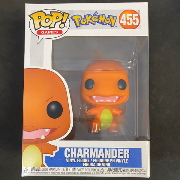 Funko Pop! Pokemon: Charmander #455