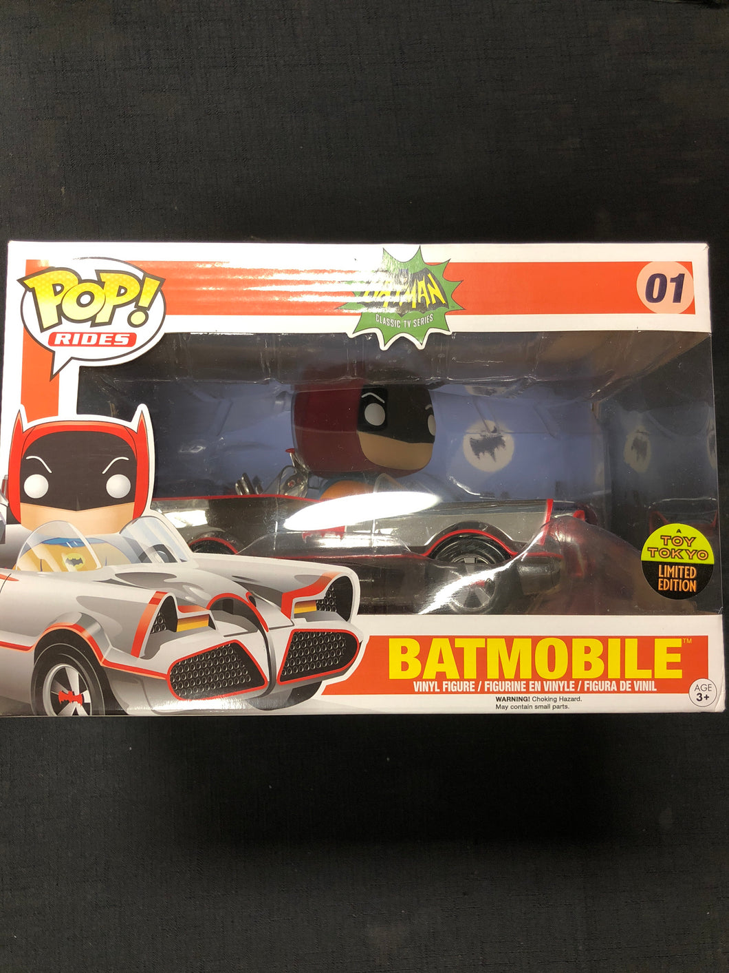 Funko Pop! Batmobile Chrome #01