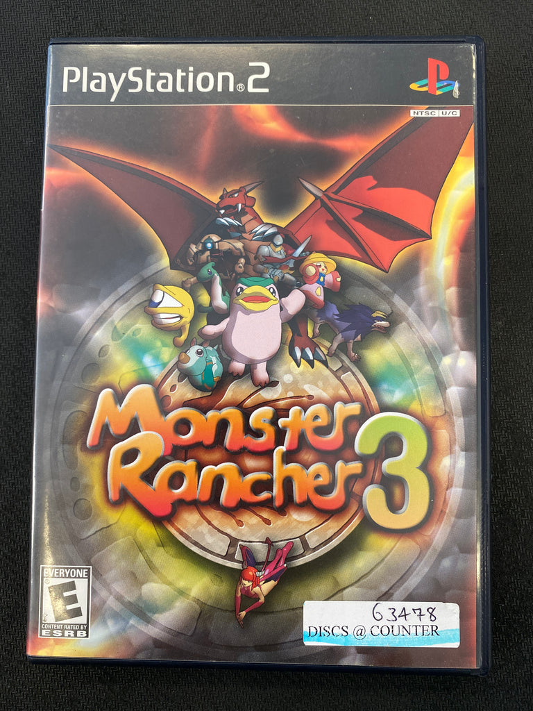 PS2: Monster Rancher 3 (Missing Manual)