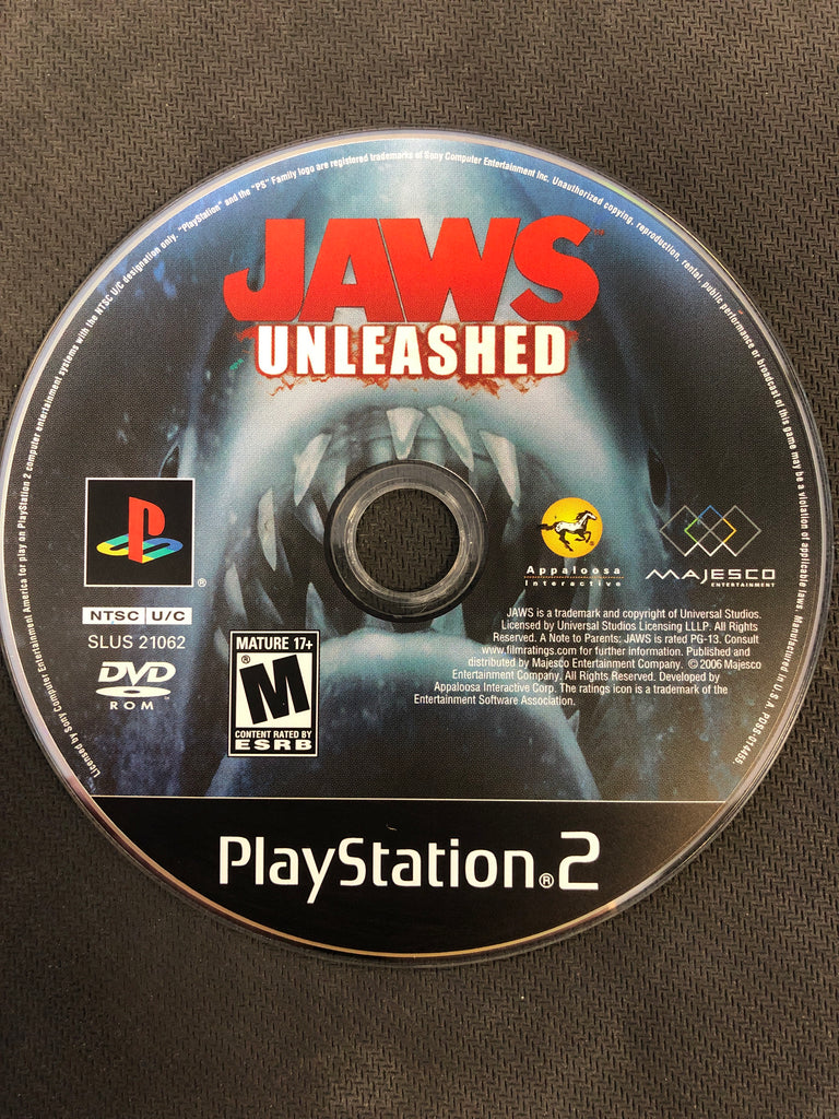 PS2: Jaws Unleashed (Disc Only)