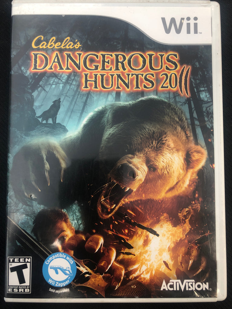 Wii: Cabela's Dangerous Hunts 2011