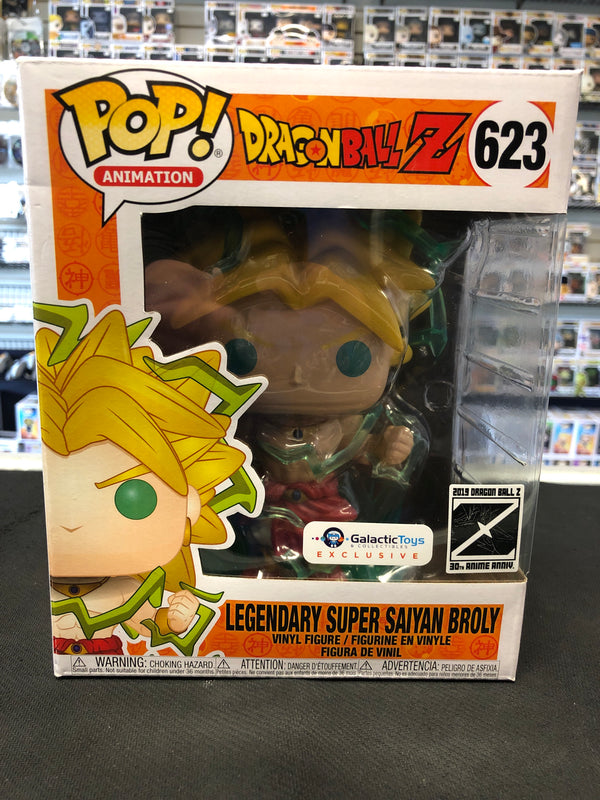 Funko Pop! Dragonball Z: Legendary Super Saiyan Broly #623