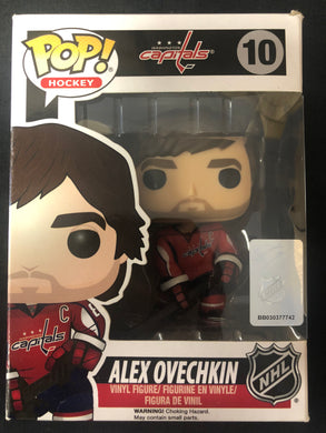 Funko Pop! Washington Capitals: Alex Ovechkin #10