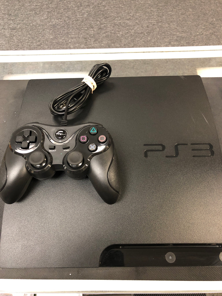 PS3: PlayStation 3 160GB Slim (Refurbished)