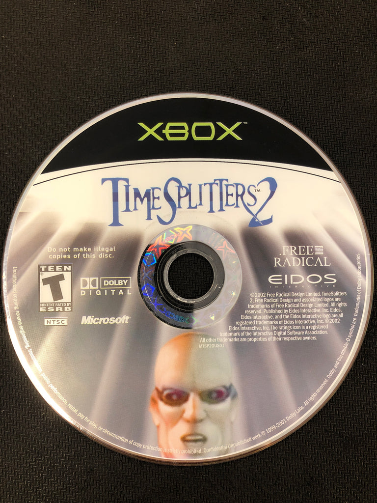 Xbox: Time Splitters 2 (Disc Only)