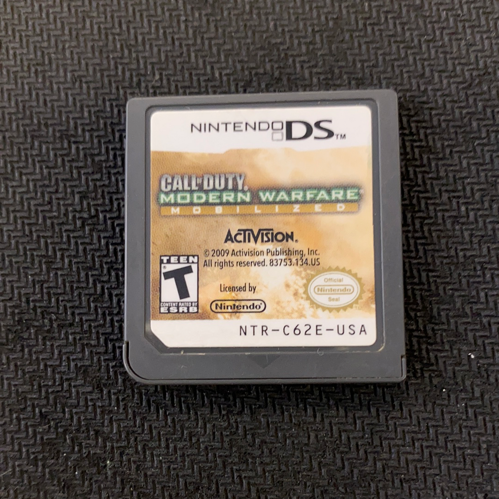 DS: Call of Duty: Modern Warfare Mobilzed (Cartridge only)