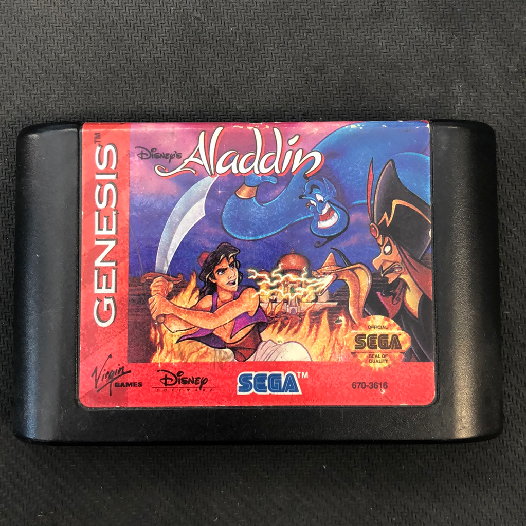 Genesis: Aladdin (Cartridge Only)