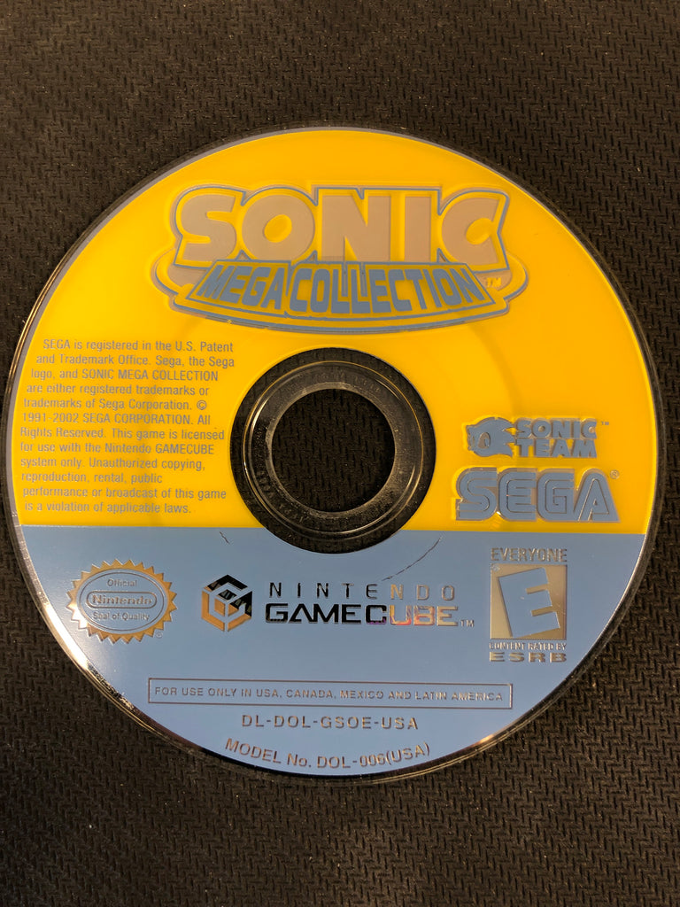 GameCube: Sonic Mega Collection (Disc Only)