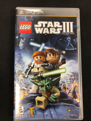 PSP: Lego Star Wars 3: The Clone Wars