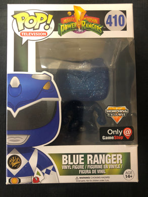 Funko Pop! Power Rangers: Blue Ranger #410