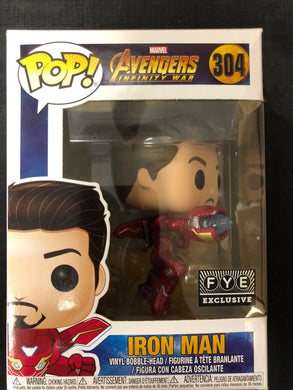 Funko Pop! Avengers: Iron Man (FYE) #304