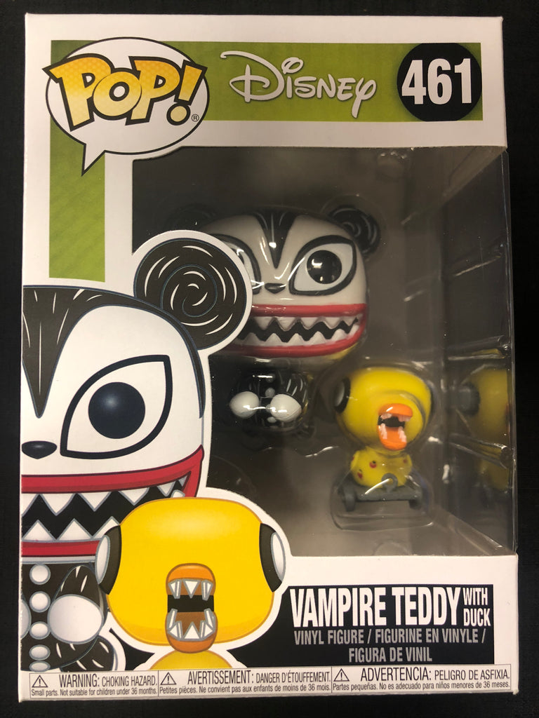 Funko Pop! Nightmare Before Christmas: Vampire Teddy With Duck #461