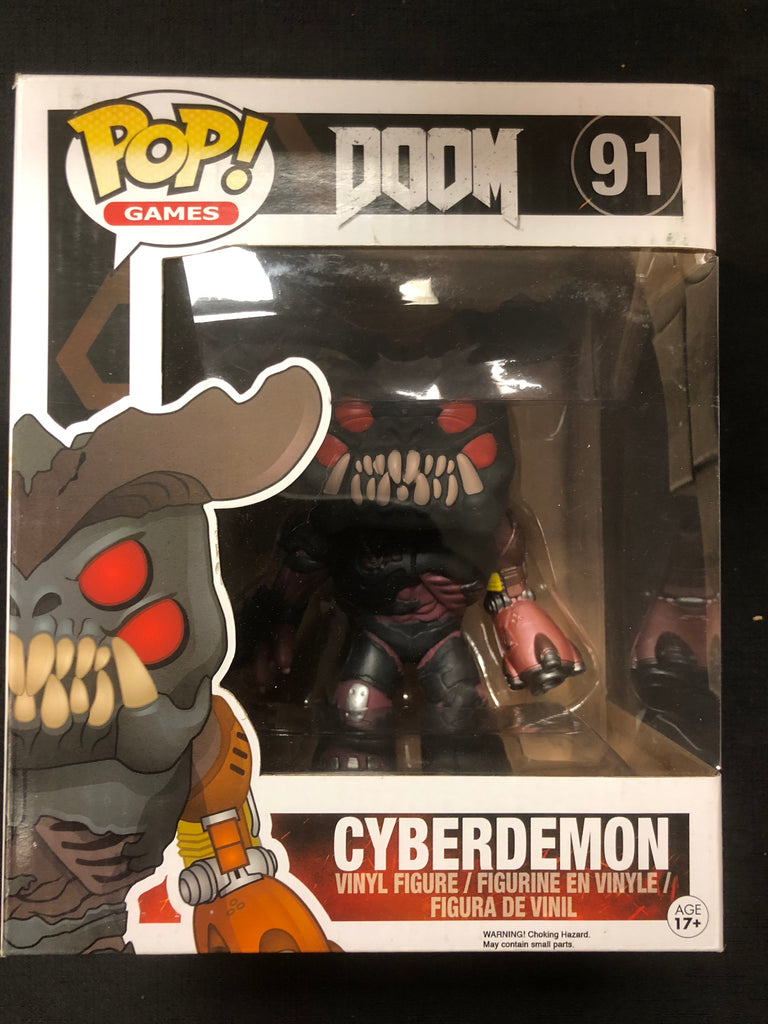 Funko Pop! Doom: Cyberdemon #91