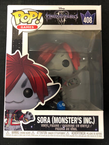 Funko Pop! Kingdom Hearts III: Sora (Monster's Inc) #408