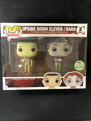 Funko Pop! Upside Down Eleven and Barb (2 Pack)