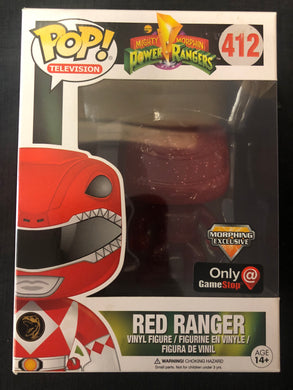 Funko Pop! Power Rangers: Red Ranger #412