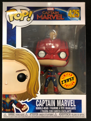 Funko Pop! Captain Marvel (Chase) #425