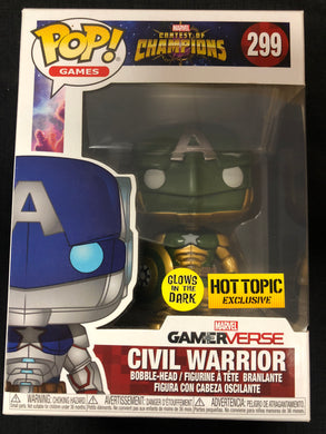 Funko Pop! Games: Civil Warrior #299