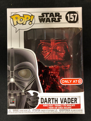 Funko Pop! Star Wars: Darth Vader (Red Chrome) #157