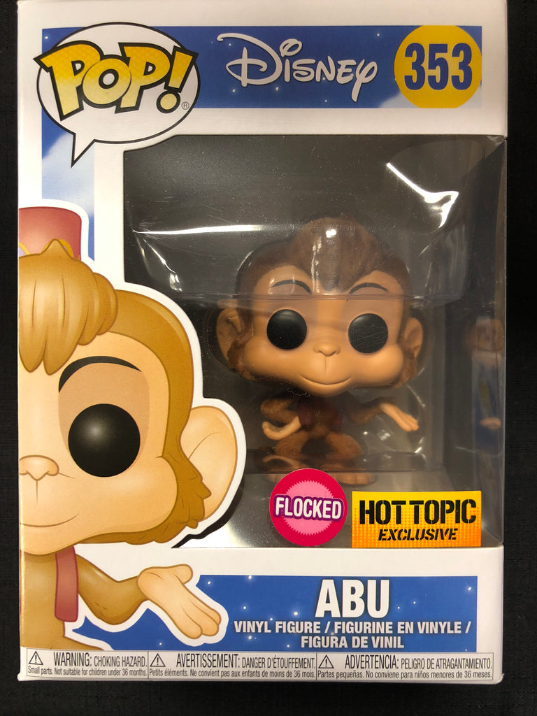 Funko Pop! Aladdin: Abu (Flocked) #353