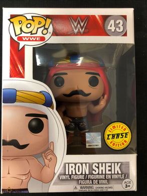 Funko Pop! Iron Sheik (Chase) #43