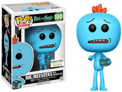 Funko Pop! Mr. Meeseeks - with Meeseeks Box #180