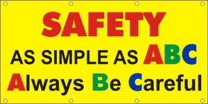 A128 Safety as Simple as ABC, Always Be Careful