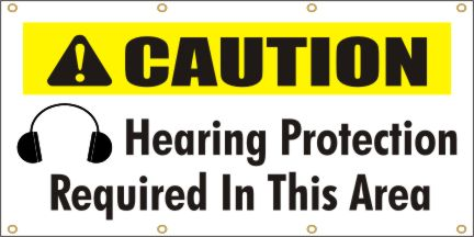 A131 Caution - Hearing Protection Required