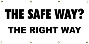 A13 The Safe Way?  The Right Way
