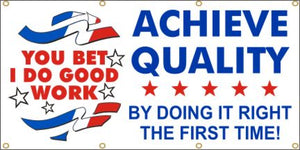 A158 Achieve Quality By Doing It Right the First Time
