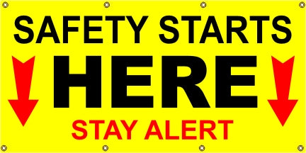 A194 Safety Starts Here - Stay Alert