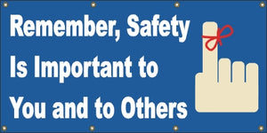 A20 Remember Safety Is important to You and Others