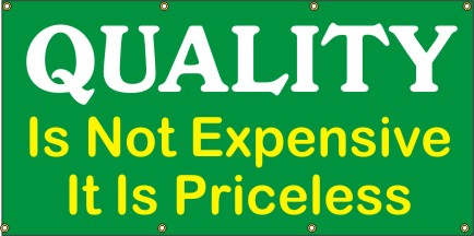 A234 Quality Is Not Expensive, It's Priceless