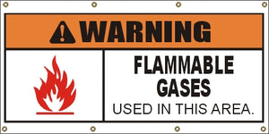 A309 Warning - Flammable Gases