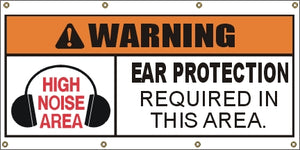 A310 Warning - Ear Protection Required