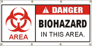 A315 Danger Biohazard Area