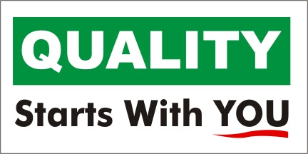 A58 Quality Starts With You