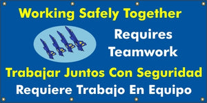 A551 Working Safely Together Takes Teamwork (Spanish)