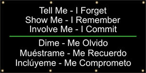 A559 Tell Me - I Forget, Involve Me I Commit (Spanish)
