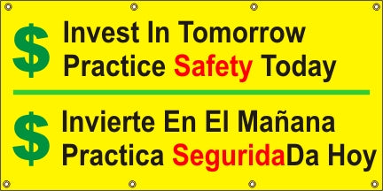 A560 Invest in Tomorrow, Practice Safety (Spanish)