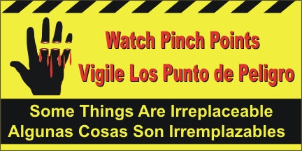A589 Watch Pinch Points - Spanish
