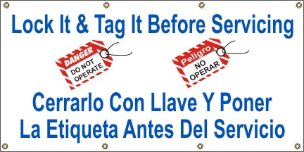 A507 Lock It & Tag It Before Servicing (Spanish)